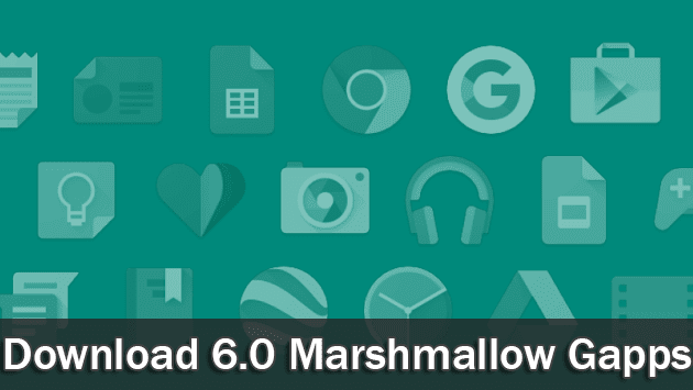 Updated Daily] Gapps for Marshmallow 6 0 / Cm13 /Lineage os