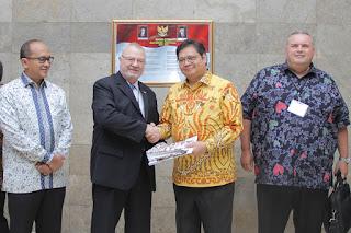 Menteri Perindustrian Menerima Kunjungan Delegasi US-Asean Business Council