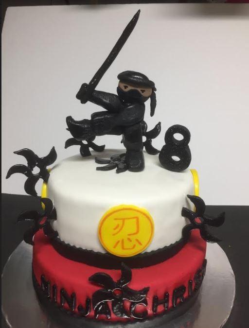 Sweets By Elena: Ninja Cake