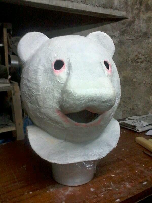 cabezudo oso panda
