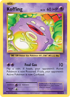 Koffing XY Evolutions Pokemon Card
