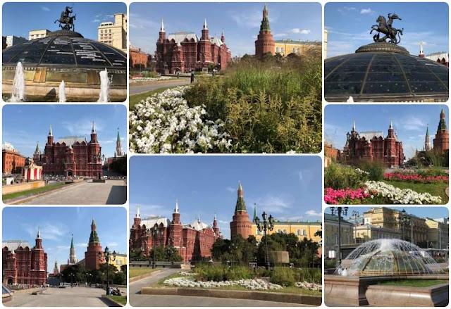 Praça do Manege - Moscovo