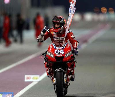 Hasil Moto GP Qatar 2019