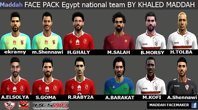 PES 2013 Egypt Facepack Update