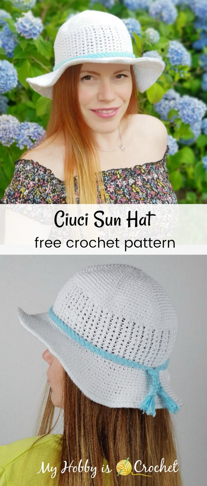 Ciuci Sun Hat - Free Crochet Pattern on myhobbyiscrochet.com