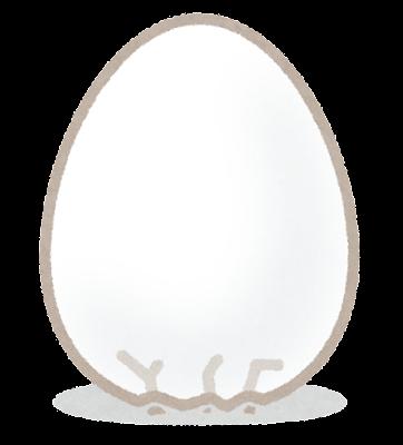 コロンブスの卵のイラスト