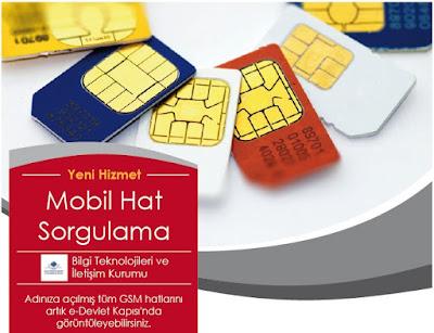 Mobil Hat Sorgulama Sistemi e-devlet üzerinden hizmet vermeye başladı
