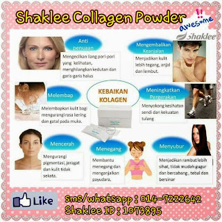 Kelebihan Shaklee Collagen Powder
