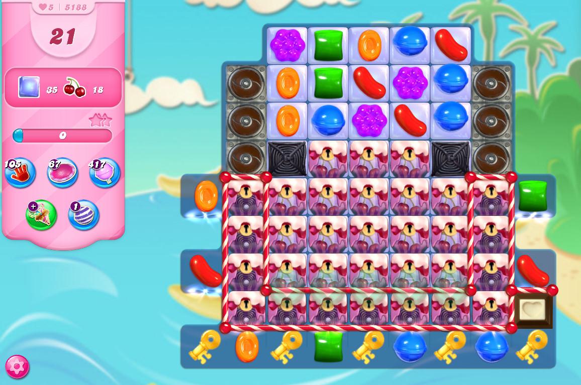 Candy Crush Saga level 5188