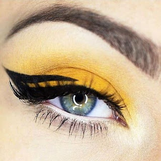 Eyeshadow Warna Kuning Trend Tahun 2016 Terbaru Make Up Riasan Indonesia