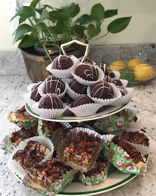 Pecan Squares and Truffles