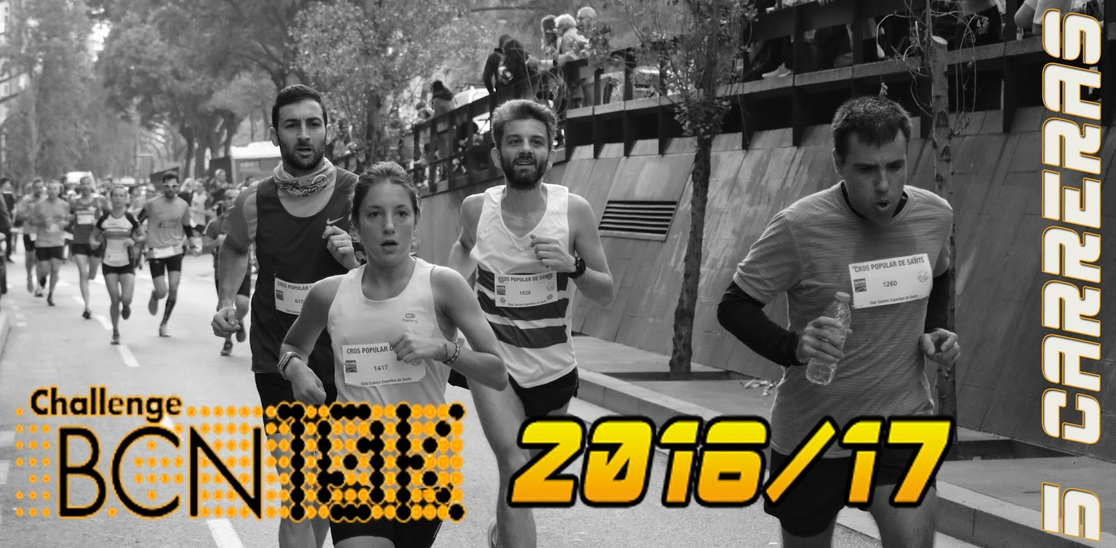 ChallengeBCN10k 2016/17 - 5 carreras