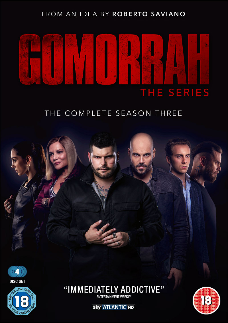gomorrah season three dvd