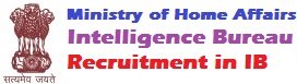 Naukri Job Recruitment in Intelligence Bureau