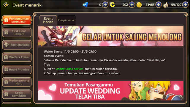 "[Event Terbatas] Tips Mendapatkan Title ""Best Helper"" Dragon Nest M-SEA Indonesia"