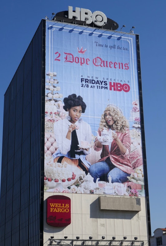 Giant 2 Dope Queens season 2 billboard