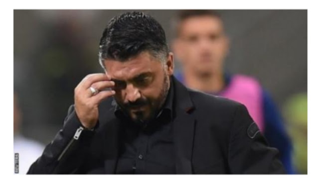 Gattuso baffled by AC milans performance  against  Real betis