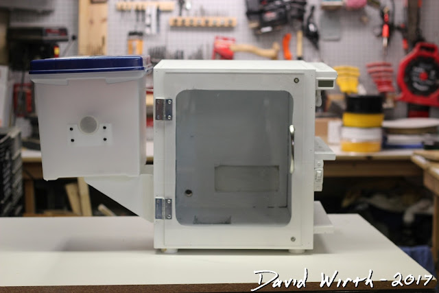3D printer enclosure, DIY, make, insulate, lighted, box, how to, make, build