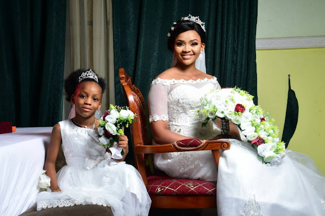 Beautiful photos from Wedding event of former Beauty Queen Ijeoma Okafor and her husband