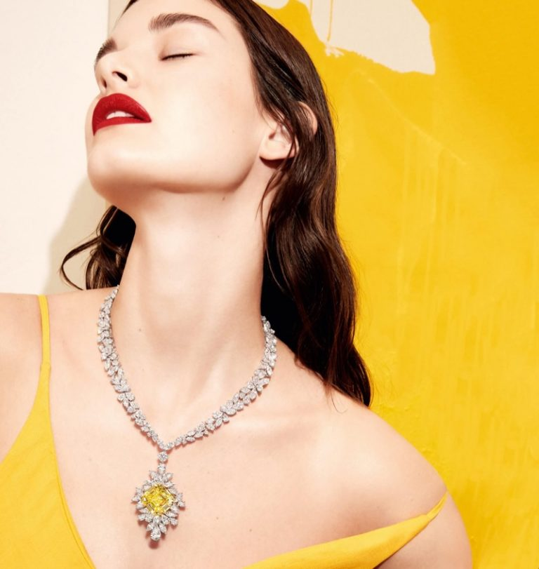 Ophelie Guillermand Sparkles in Graff Diamonds Campaign