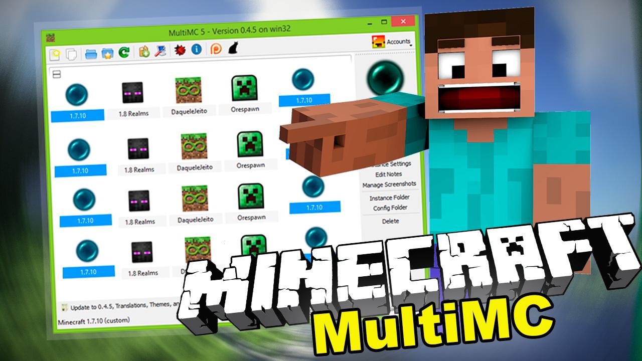 Launcher MultiMC Pirata - Baixar Minecraft Grátis  MineMods