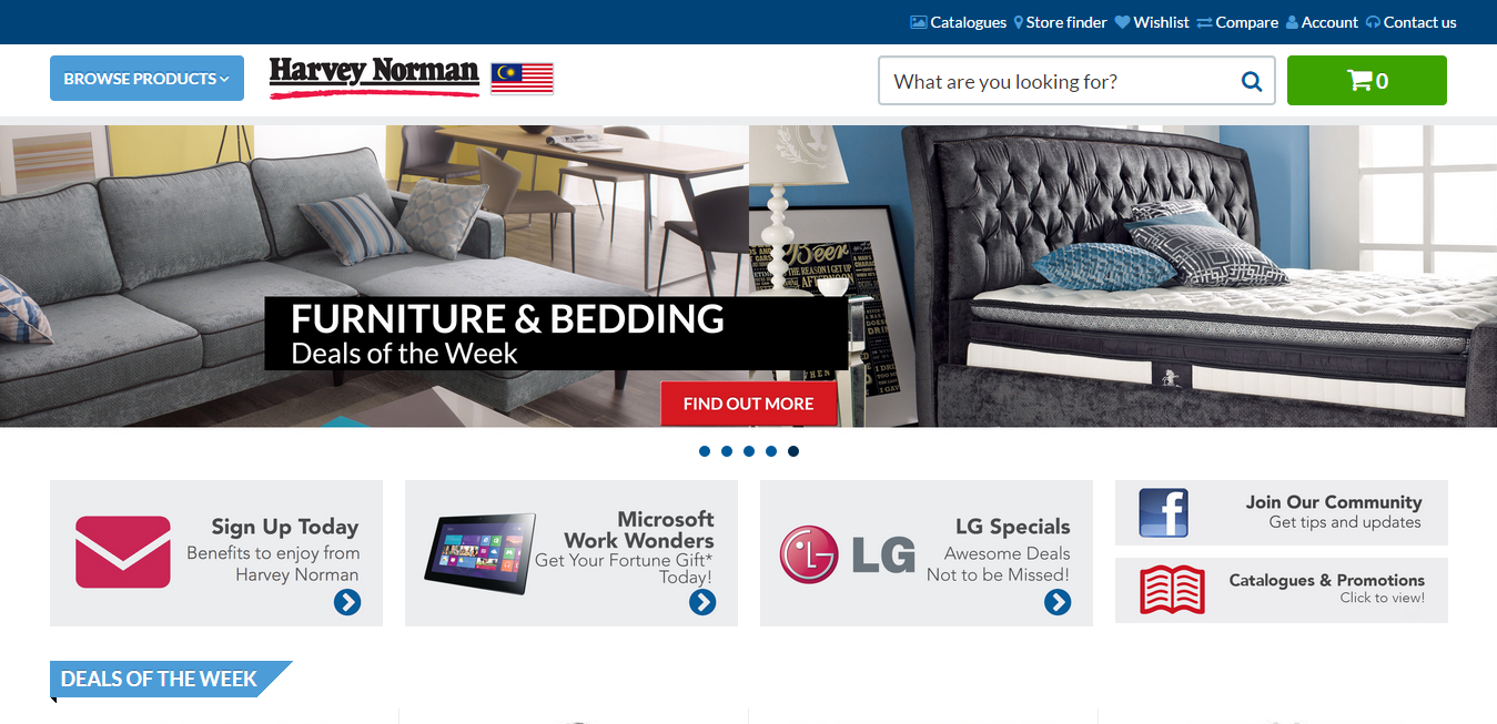 Harvey Norman online store