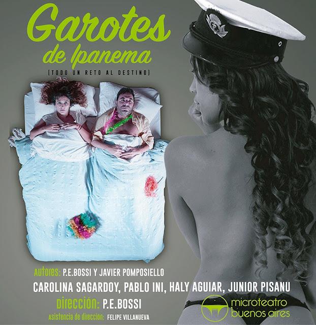 Garotes de Ipanema en el Microteatro