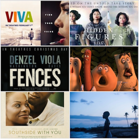 Moonlight, Film, 2016, Fences, Southside with you, Sausage Party, Viva