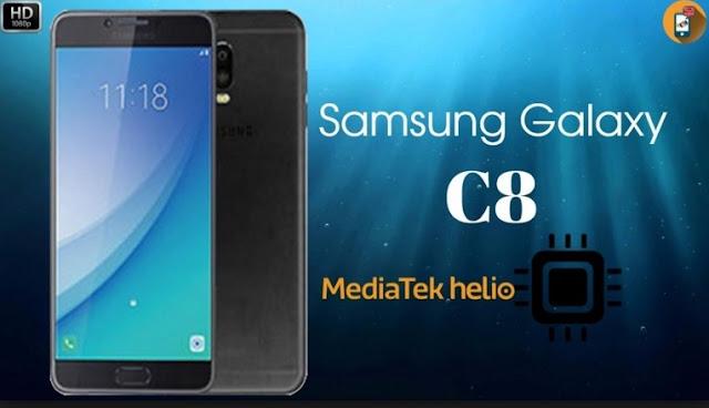 Review HP Samsung Galaxy C8, Harga dan Spesifikasi HP Samsung Galaxy C8 Tahun 2017, Layar 5.5 Inchi, Memori Internal 32GB, RAM 3GB
