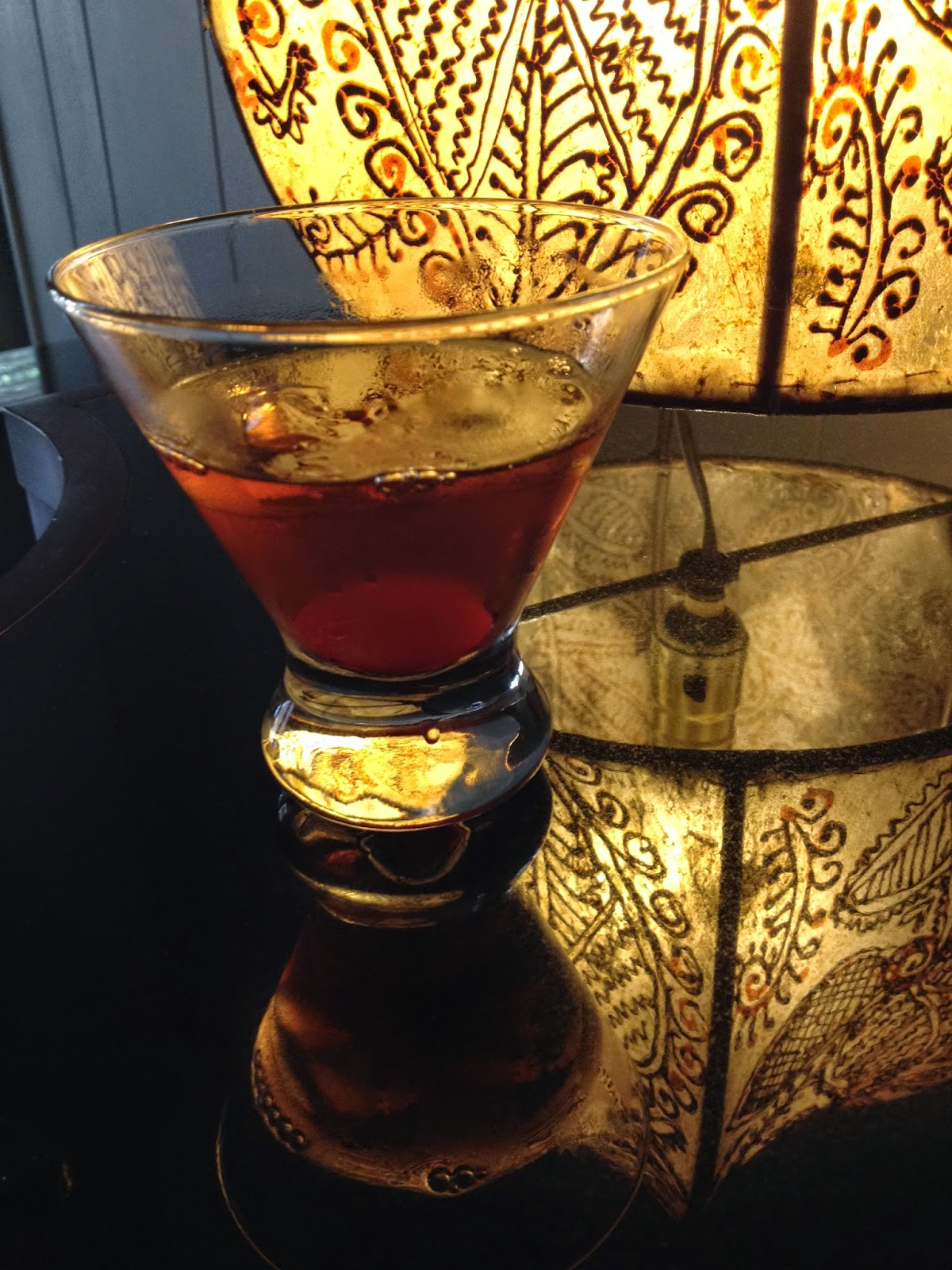 A Manhattan, mixed to perfection