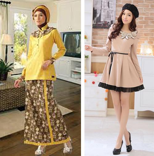 contoh model baju modern