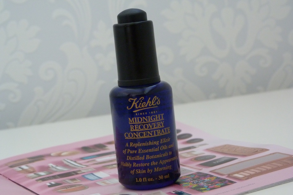 an image of kiehls midnight recovery concentrate