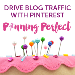 Pinning Perfect - The BEST interest E-Course featured on Walking on Sunshine Recipes.  This is the course I took to help me learn how to use Pinterest for my VA business and for my blog!