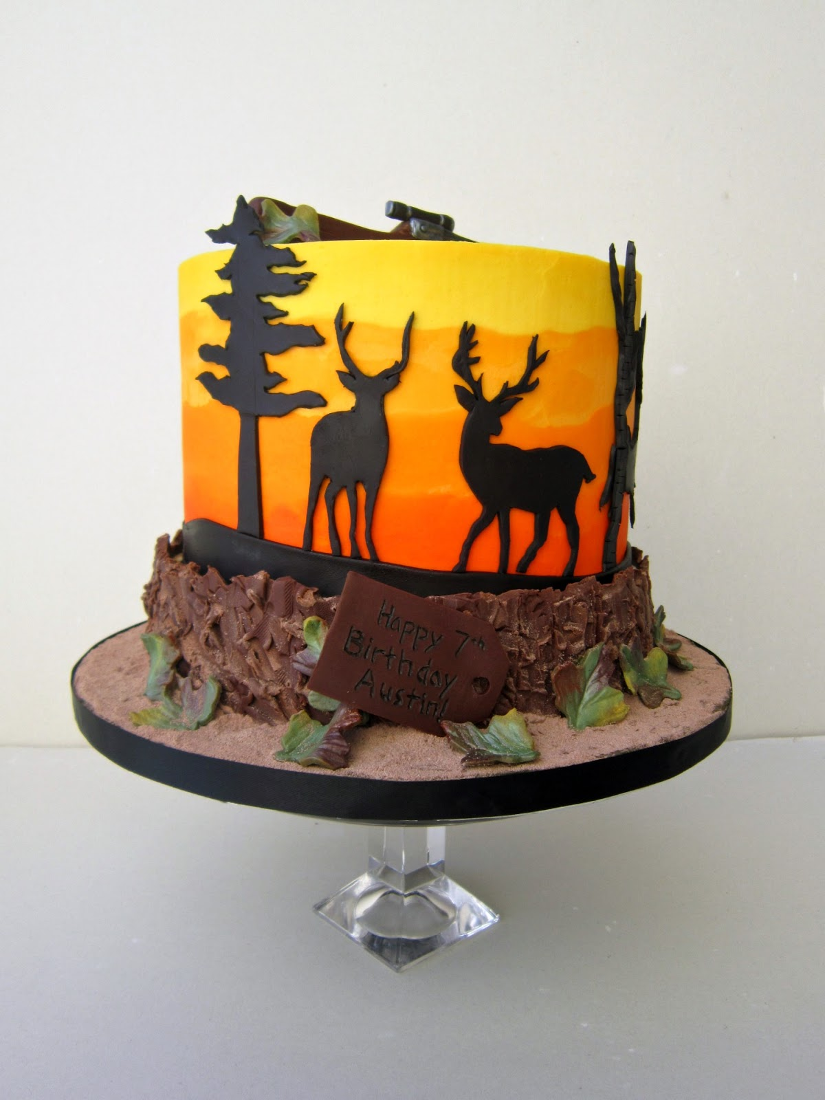 Deer Decorations For Cake