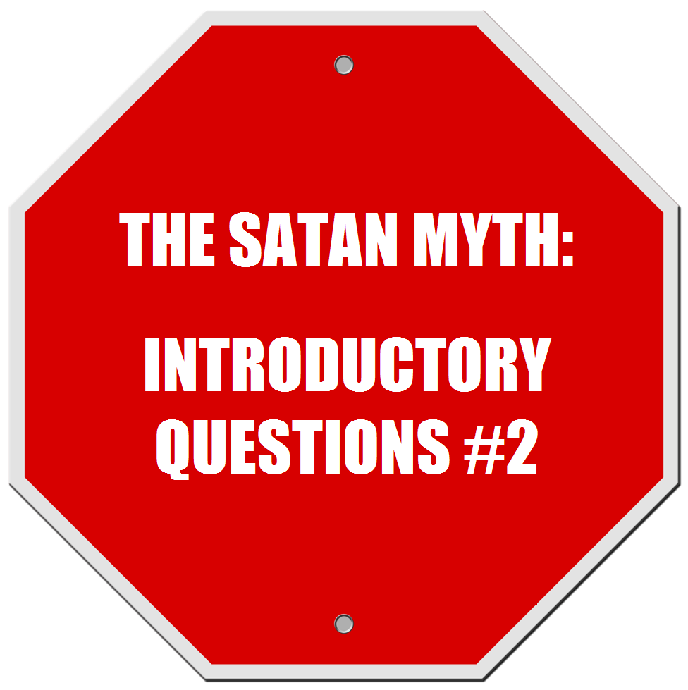 Lucifer Question: TaZ's Whateverology: The Satan Myth: Introductory
