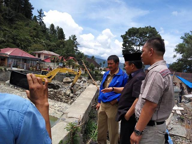 Komisi III : Tidak Ada Izin, Kadis PU Harus Menghentikan Galian C Proyek Sungai Bungkal