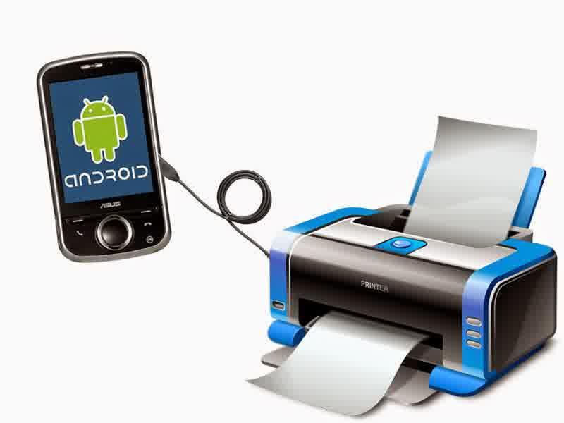 Print Dari Android dengan USB