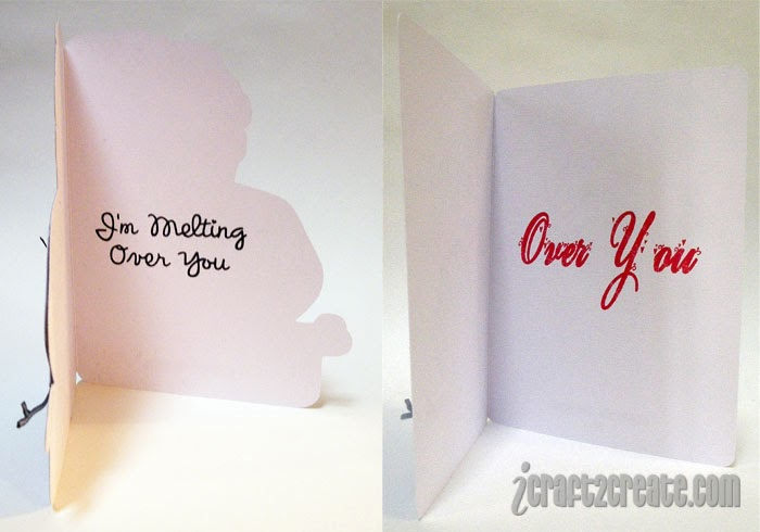 Lettering Delights, Silhouette Cameo, card