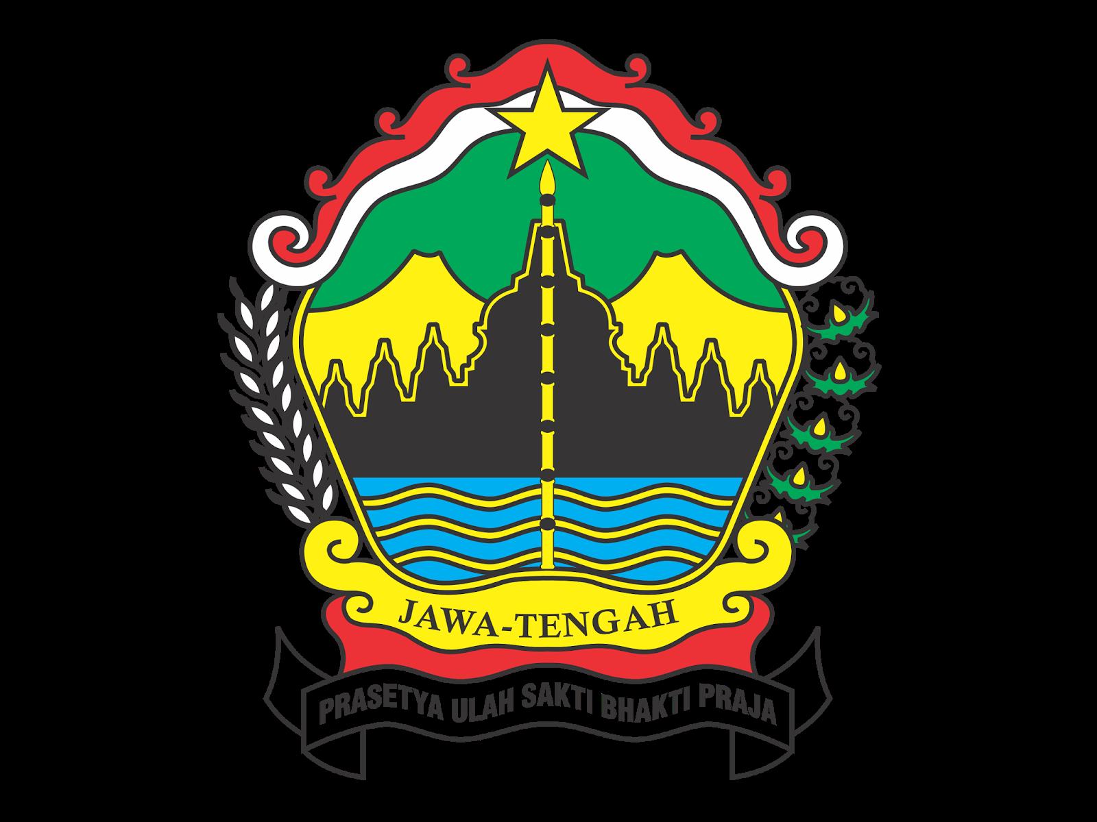 Bali Vector Download Logo Provinsi Jawa Tengah Png Hd