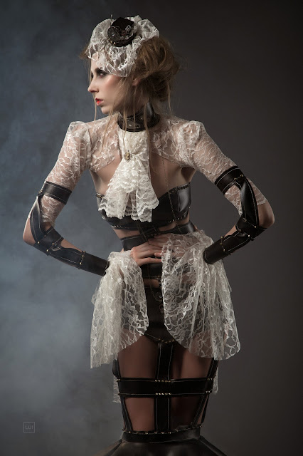 Leather And Lace Steampunk Bride