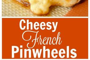 Cheesy French Pinwheels Recipe