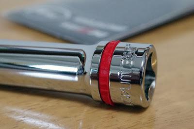 ネプロスミュージアム赤いゴムリングディープソケット10mm