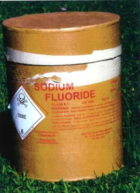 zu viel fluorid