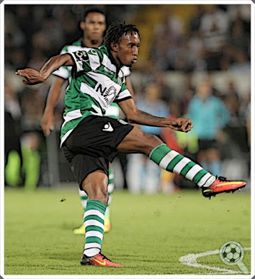 Gelson Martins Elias Sporting CP 2016-17