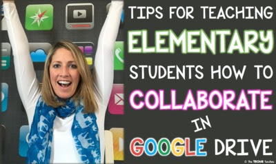 FREE VIDEO! Tips for teaching students how to collaborate in Google Drive