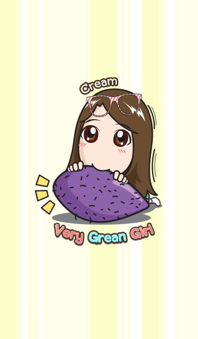Very Grean girl Cream