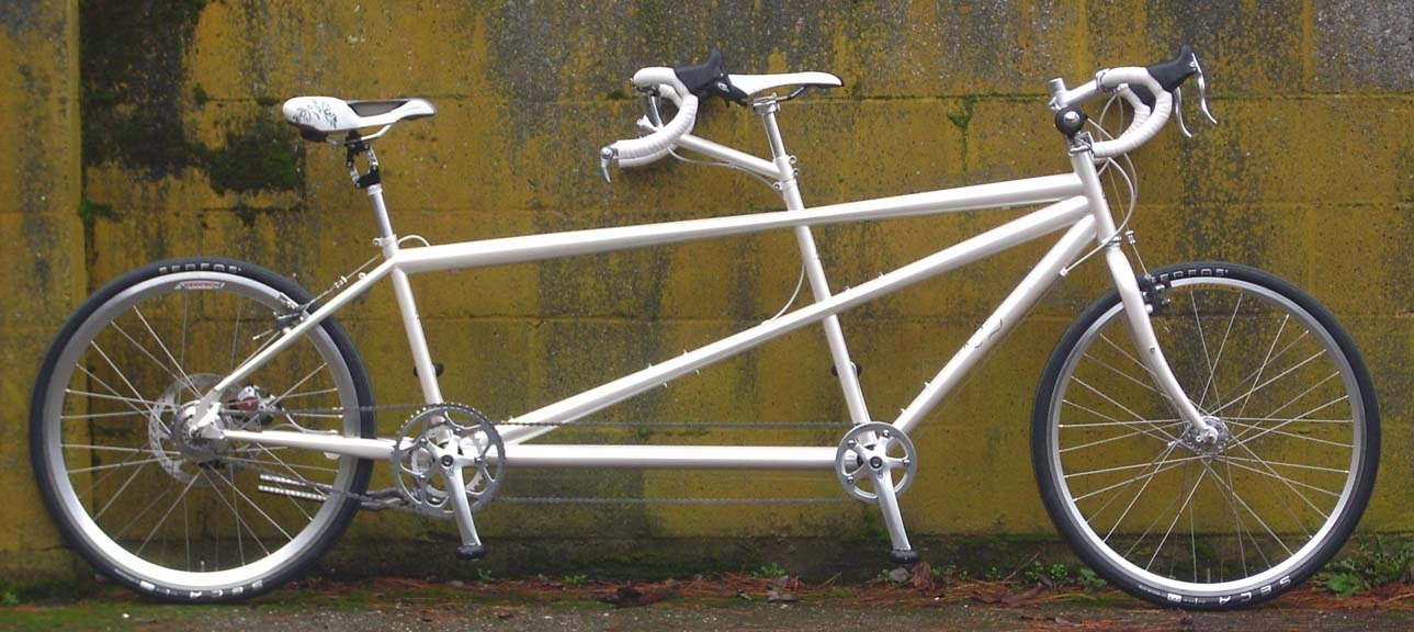 The Monkey Lab: Rodriguez MakeShift Tandem with a Rohloff