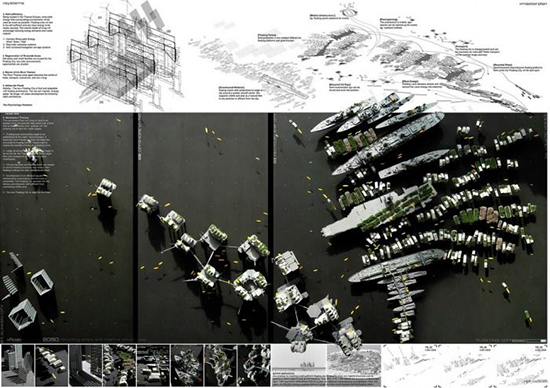 Tips mendesain panel presentasi desain arsitektur