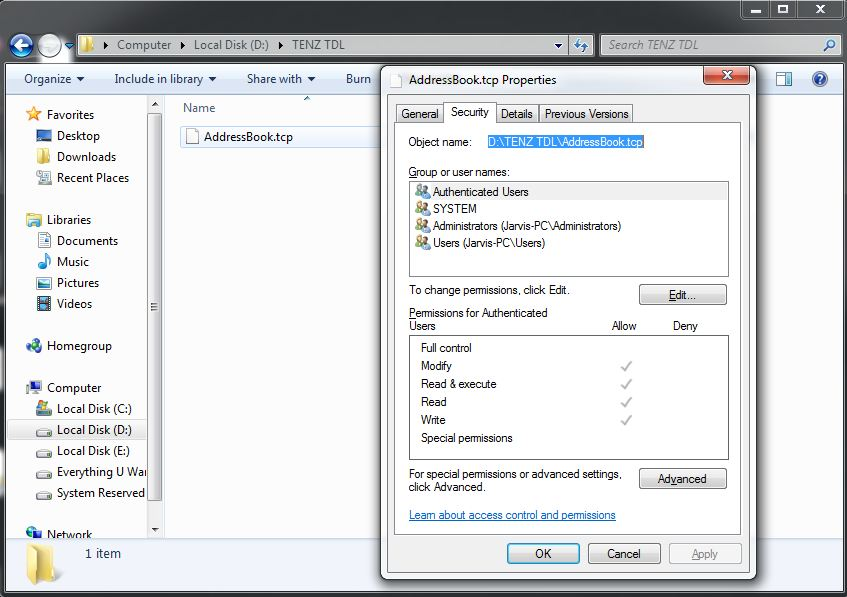 Address Book TDL in Tally ERP9