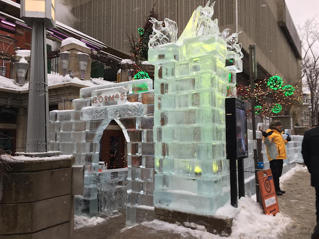 ice bar on the Grande Allée in Québec City, Canada